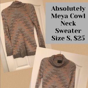 Absolutely Creative Worldwide Meya cowlneck
